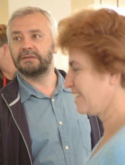 GM Alexander Ivanov, with his wife WIM Esther Epstein