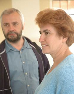 WIM Esther Epstein and husband GM Alex Ivanov